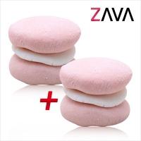 자바(ZAVA) 천연 거품 입욕제 - 06.카롱카롱 1+1