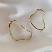 드로잉 링 귀걸이