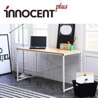 이노센트플러스 인센트 화이트스틸 일자형 책상 IYS101