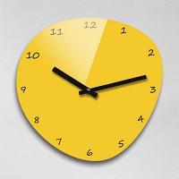 Reflex 자갈 옐로우컬러 무소음벽시계(대) JAG280-YE