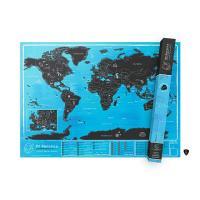 [럭키스] 영국 정품 스크래치 맵 세계지도 에드 시런