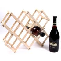 접이식 우드 와인 거치대 -8홀 와인랙