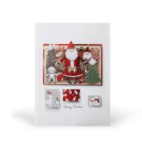 크리스마스카드/성탄절/트리/산타 산타선물 (FS206-6)