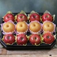 [과일농산]팔각 당도선별 사과 배 혼합세트 2호 5.5kg(사과8과+배4과)