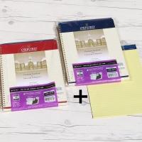 옥스포드 레터 100매 포켓 절취스프링+패드 ASN53010