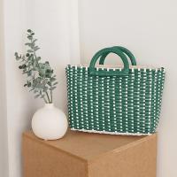 Nylon Green Tote Bag - 어깨끈 포함