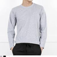 DGI1820 남자기본라운드긴팔면티셔츠