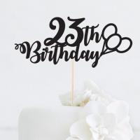 [인디고샵] 생일 풍선 맞춤 케이크토퍼