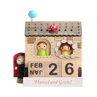 우더풀라이프 달력 HANSEL AND GRETEL WOODENCALENDAR