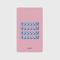 [어프어프] 보조배터리 Cooool-light pink