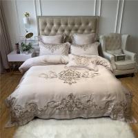 [클라모프] 고딕 클래식 자수 침대커버 세트