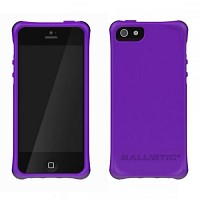 [충격완벽보호 볼리스틱 케이스] BALLISTIC LS Smooth iPHONE 5 (Purple1) [완벽하게 스마트폰 보호 소재]
