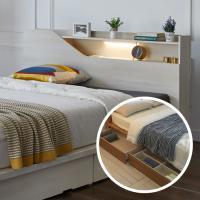 서랍평상형 DM118 침대 Q LED조명