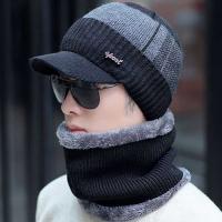 Winter MAN Knit  캡비니 넥워머세트 metal 포인트