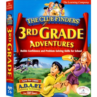 [CD-ROM] ClueFinders 3rd Grade -초등 3학년 종합학습