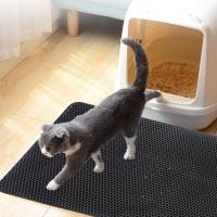 고양이 사막화방지 모래 발판 청소 매트
