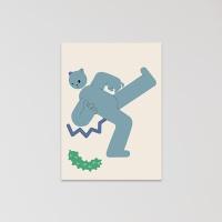 고양이 엽서 (cucumber)