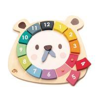 [무료배송]우리같이 볼빨간 사춘곰 컬러 시계놀이