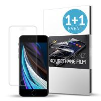 스킨즈 아이폰SE2 2세대 우레탄 풀커버 액정 필름 2매