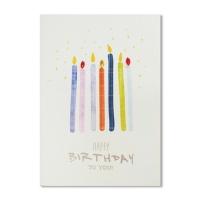 홀마크 생일 축하 카드(촛불)-KED2211