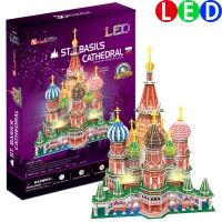 [3D퍼즐마을][L519h] 상크트바실리 대성당-LED (St. Basil's Cathedral)