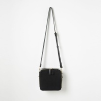 Square Cross Bag (Black) - P003C_BK