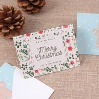 크리스마스 카드 - 플라워