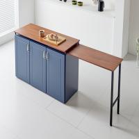 뉴블 LPM 아일랜드식탁 확장형 홈바테이블 1200