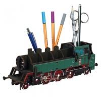 연필꽂이 기차 (3색상) Penbox Steam Train