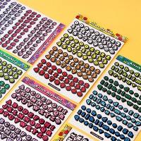 (홀로그램)키치키치 알파벳,숫자 스티커