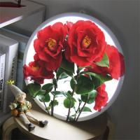 nb789-LED액자35R_아름다운동백꽃