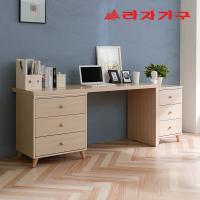 무노 책상+서랍장 세트 B형 1200