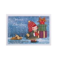 크리스마스카드/성탄절/트리/산타 크리스마스 카드 (FS1010-6)