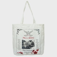 LOUVAIN ECO BAG WHITE 에코백