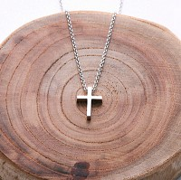 WH-SM cross necklace (NTS003A)
