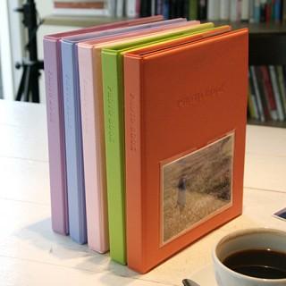 Color photo book-black(L)_접착식