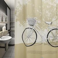 나무와 자전거(샤워커튼)