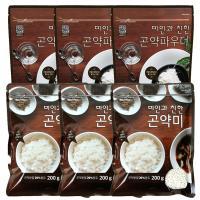 [패키지]곤약쌀200g 3봉 곤약파우더150g 3봉