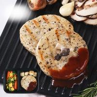 [허닭] 표고버섯 닭가슴살 & 스테이크 소스 도시락