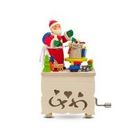 [유럽직수입오르골] 산타와 선물가방
