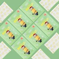 미니언즈 휴대용 핫팩 특대형 5매 x 3팩