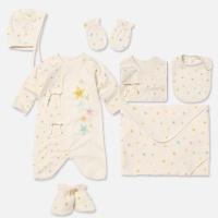 [위드오가닉] 오가닉 신생아 출산7종세트 아기별