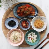 일본식기 로코코 반상세트