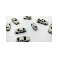 백색 자동차모형-4종