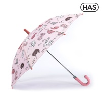 [HAS] 아동 우산_야옹고양이 핑크