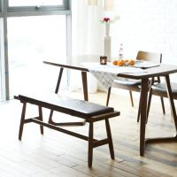 [채우리] 레이 4인 원목 식탁+벤치1