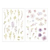 Miccudo 프린트-온 스티커 (13.Mini bouquet)