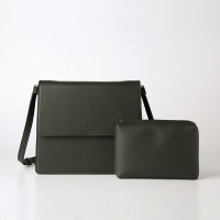 Trapezoid Cross Bag (Green) - P007C_GN