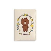 [LINE FRIENDS] 카드 케이스 [플라워]