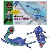 공룡메카드 더블피규어 플레시오사우루스 /공룡로봇